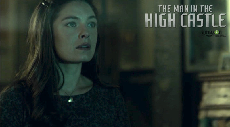 CONJURE Gold Heart Necklace | Man in the High Castle