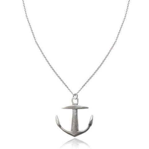 Large Silver Anchor