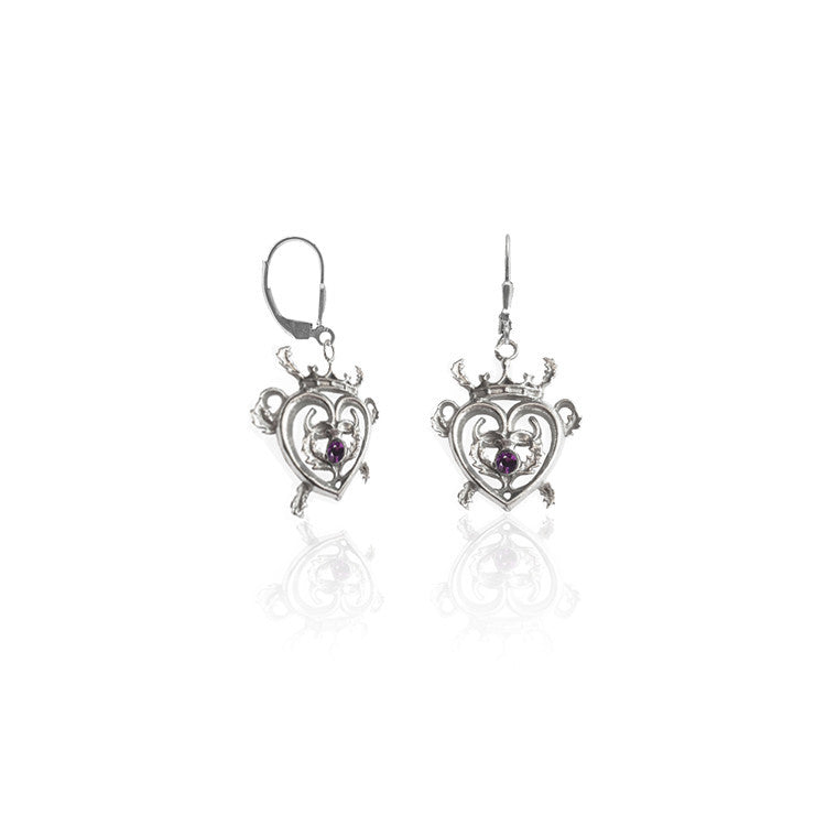 Thistle Luckenbooth Earrings