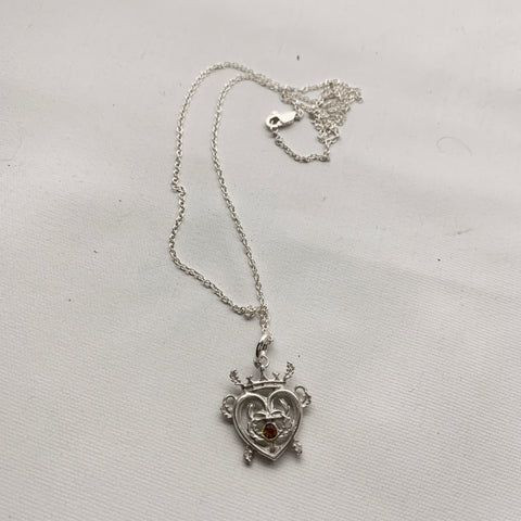 SALE - Silver Luckenbooth Charm