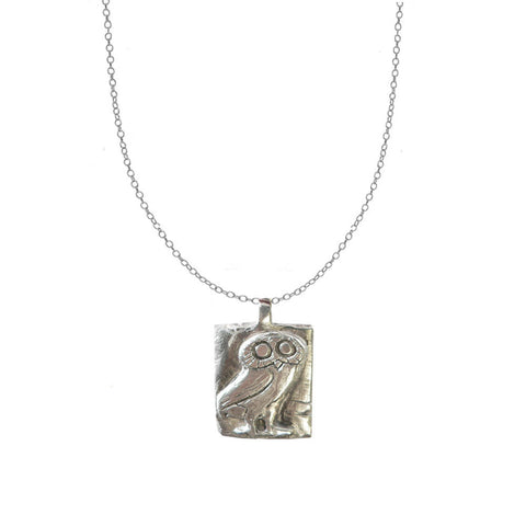 Viking Owl Necklace