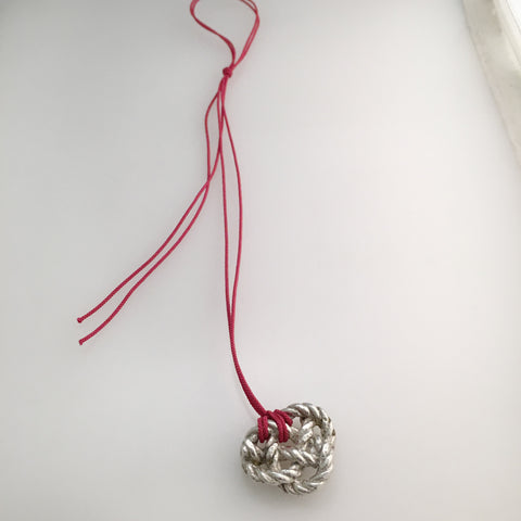 Large Weaver's Knot Necklace