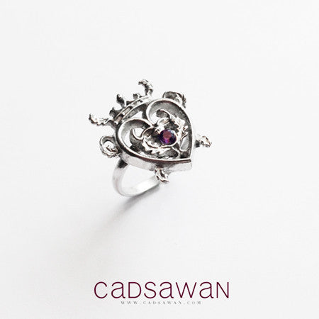 Thistle Luckenbooth Ring