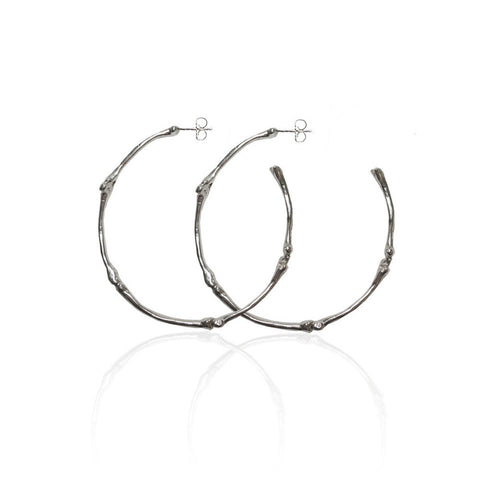 Rock & Bone Hoop Earrings