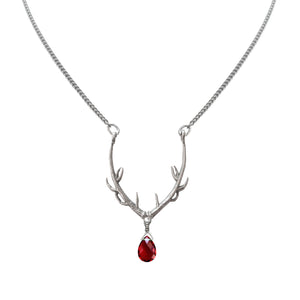 CONJURE Silver Stag of Destiny Necklace
