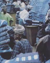 Indigo Cloth Making Mali