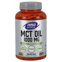 Load image into Gallery viewer, NOW MCT Oil 1000 mg Softgels