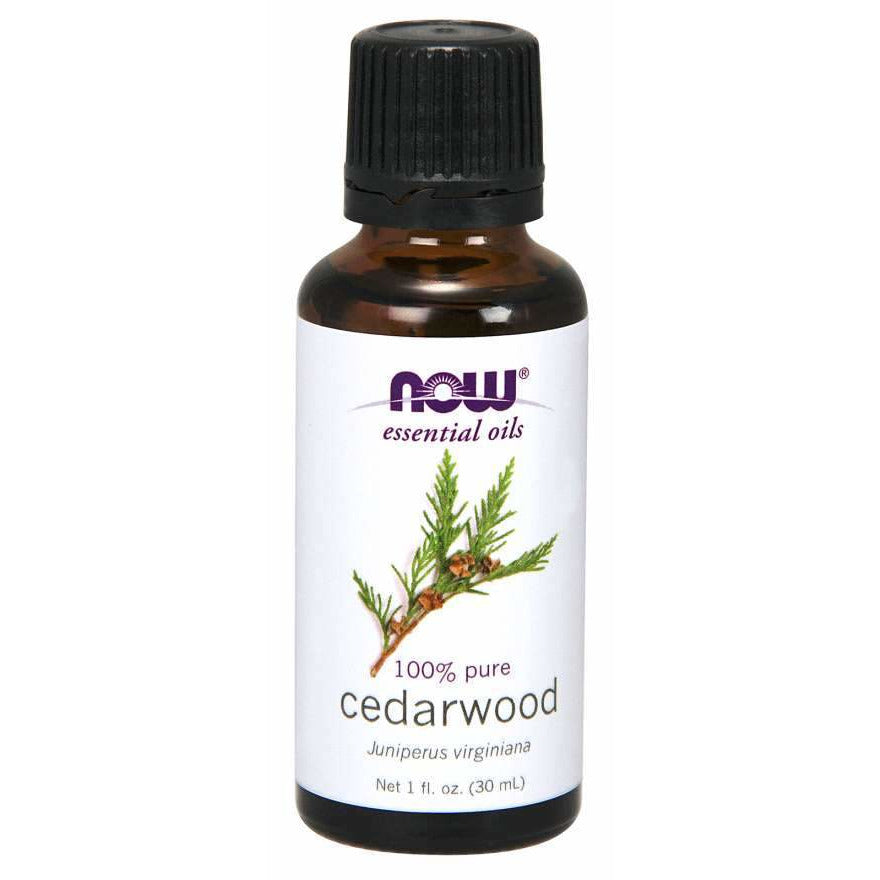NOW Cedarwood Essential Oil [1 fl oz, 30 ml]