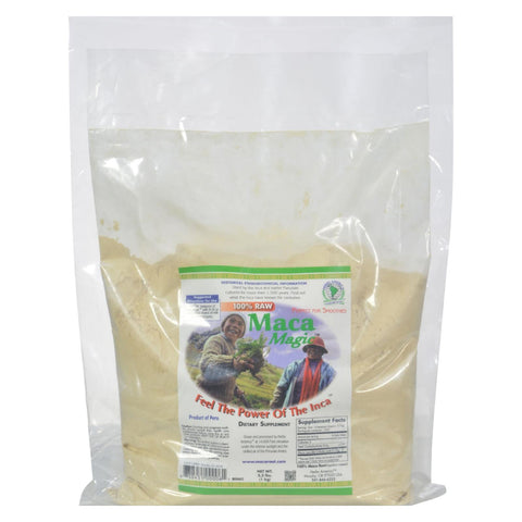 Maca Magic Raw Maca Powder - 2.2 Lbs