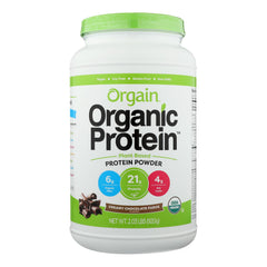 Orgain Organic Protein Powder - Plant Based - Creamy Chocolate Fudge - 2.03 Lb