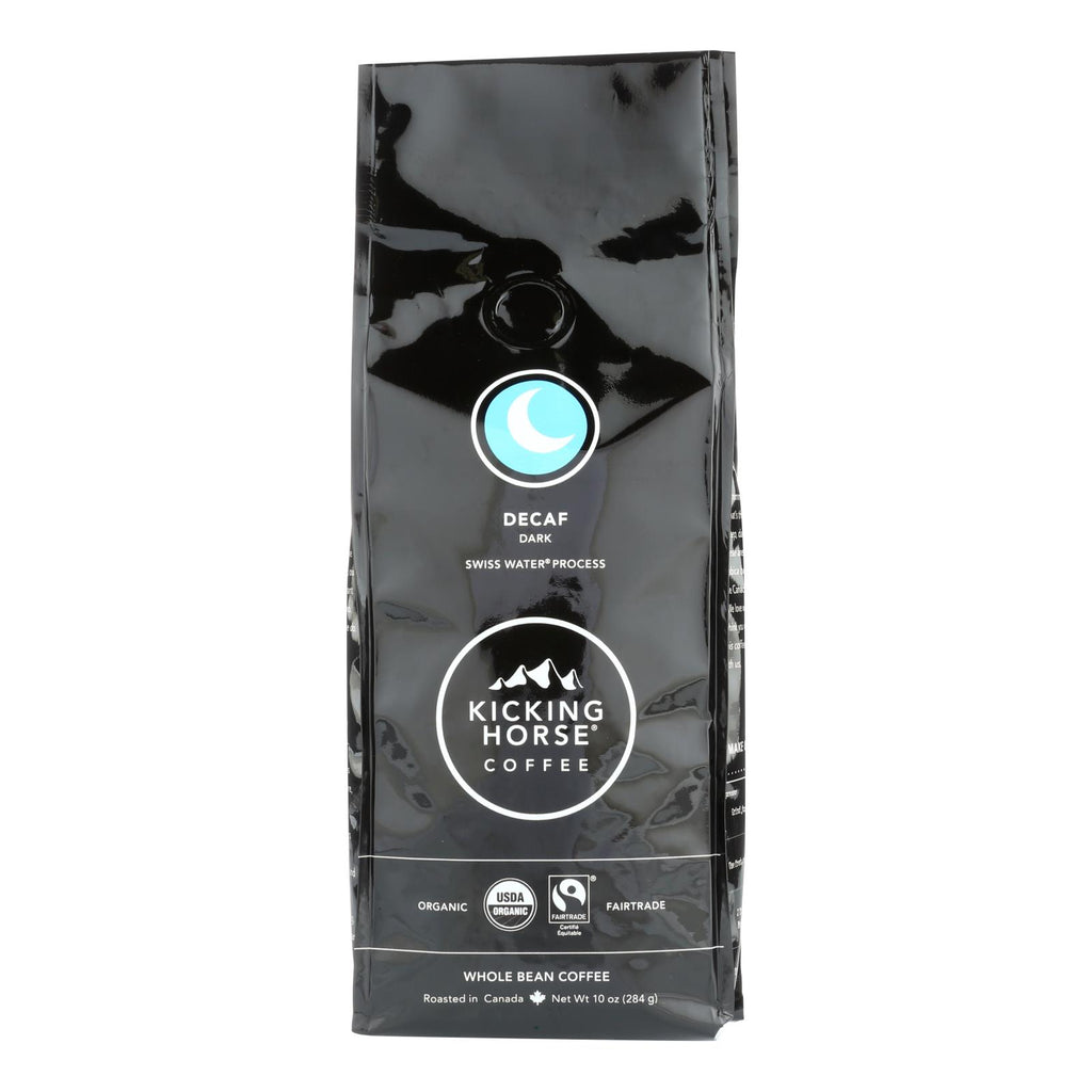 Kicking Horse Coffee - Whole Bean - Decaf - Case Of 6 - 10 Oz.
