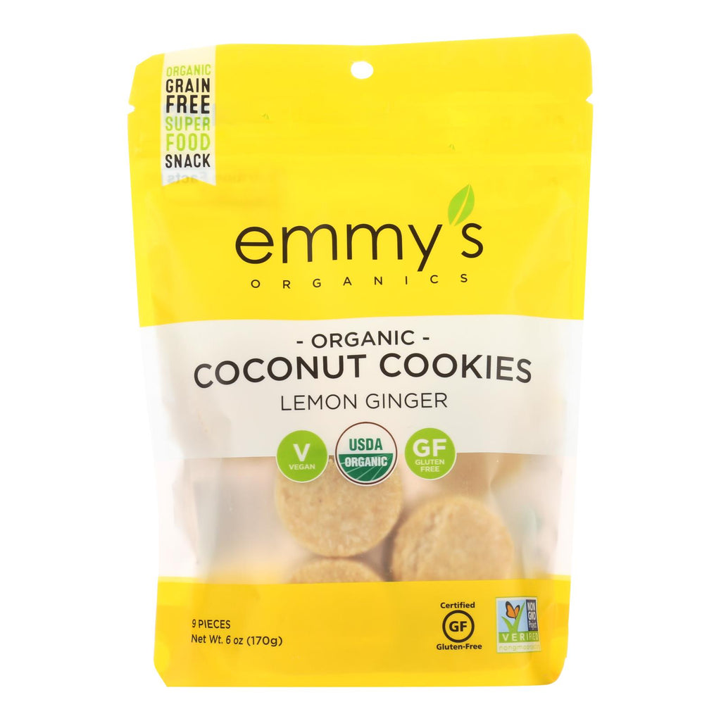 Emmy's Organics  Organic Coconut - Case Of 8 - 6 Oz.