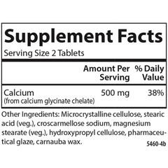 Carlson - Chelated Calcium 500mg - 180 Tablets
