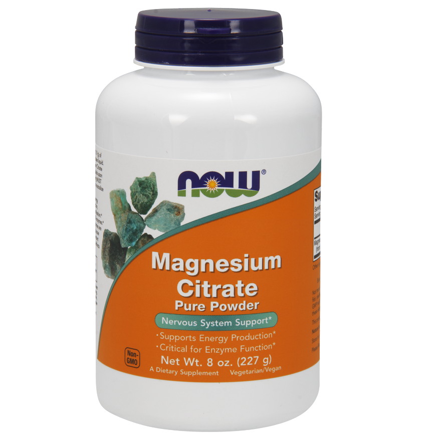 NOW Magnesium Citrate Powder