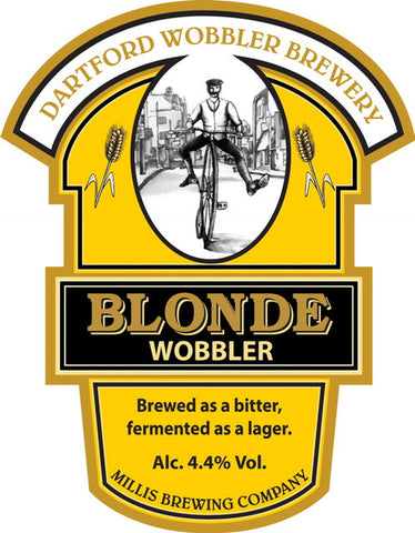 A light refreshing blonde beer with abundant hop taste
