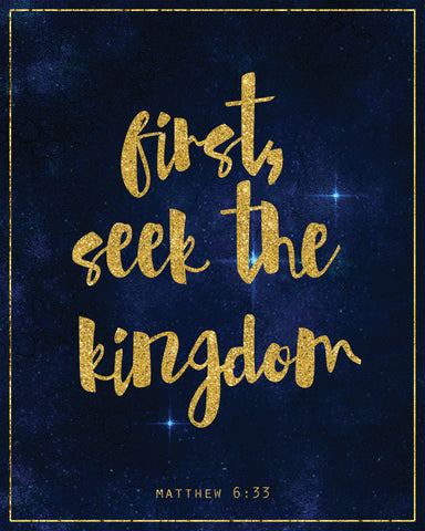 free printable first seek the kingdom