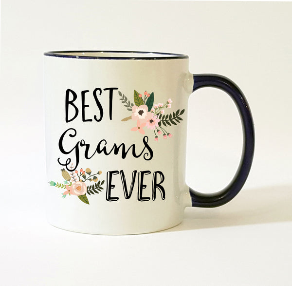 Personalized Grams Gift / Best Grams Ever Mug