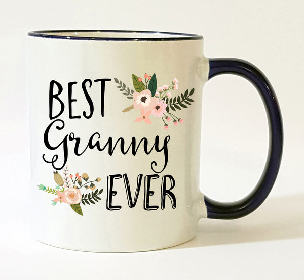 Personalized Granny Gift / Best Granny Ever Mug