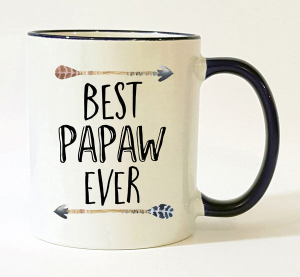 Personalized Papaw Mug / Best Papaw Ever