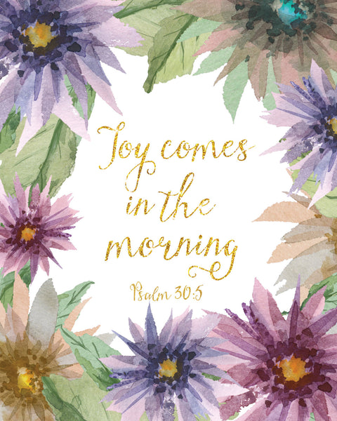 Joy Comes in the Morning Digital Download Print