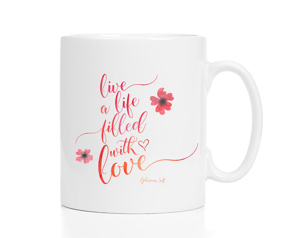 Ephesians 5:3 Mug: Live a Life Filled With Love