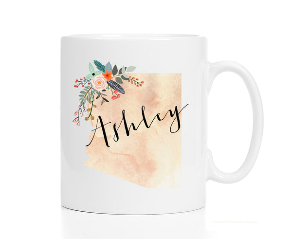 Personalized Arizona Mug