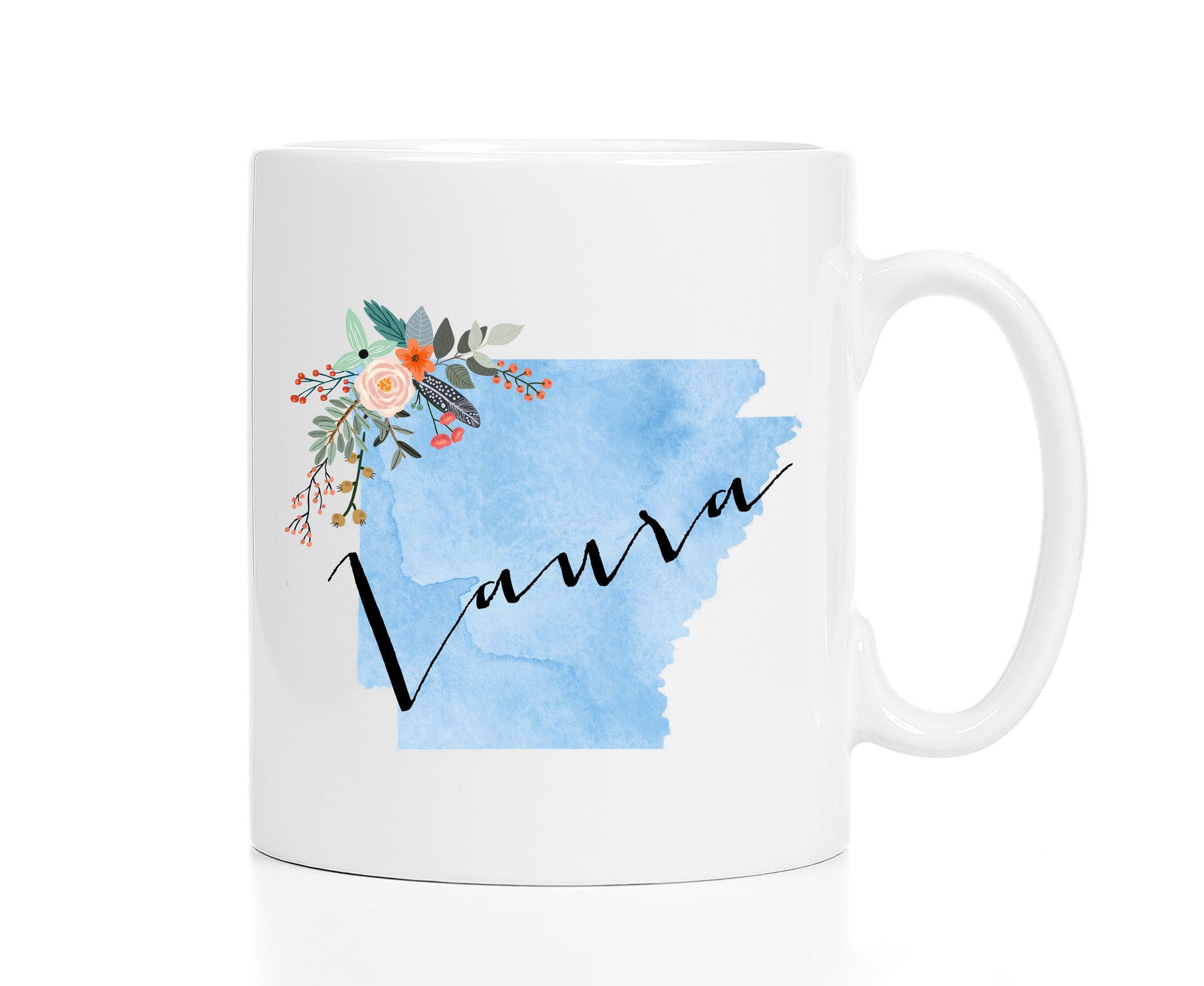 Personalized Arkansas Mug