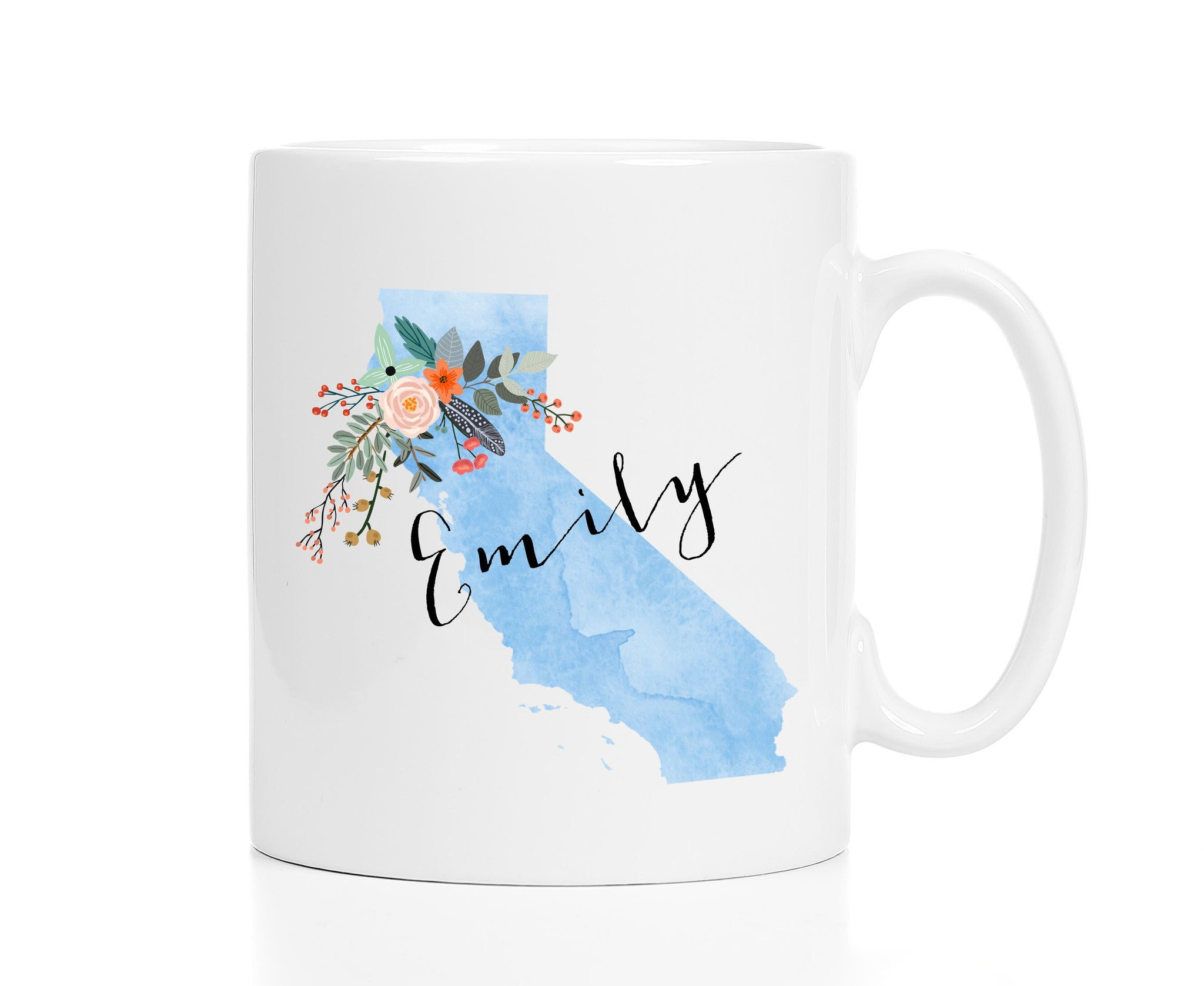 Personalized California Mug