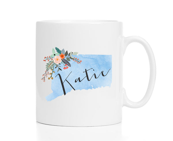 Personalized Connecticut Mug