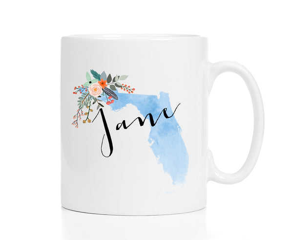 Personalized Florida Mug