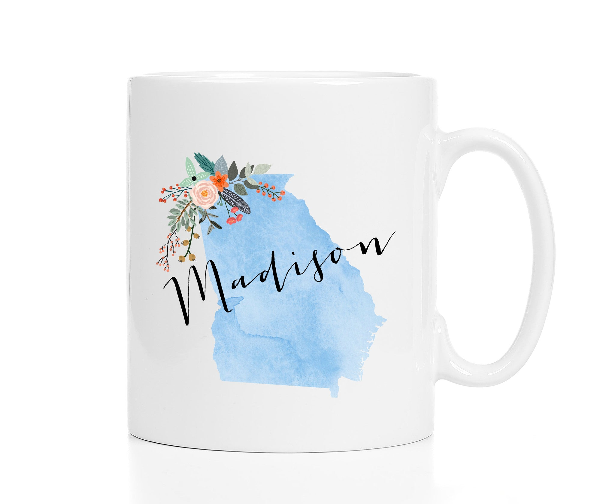 Personalized Georgia Mug