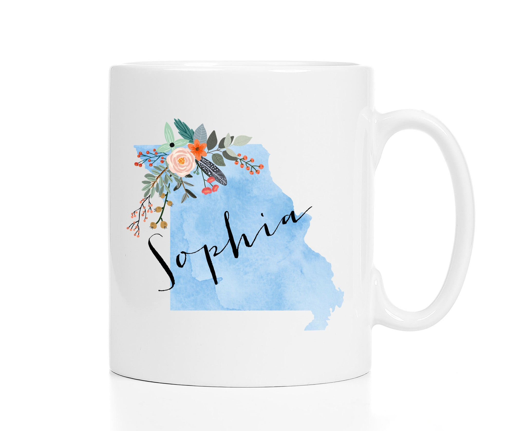 Personalized Missouri Mug