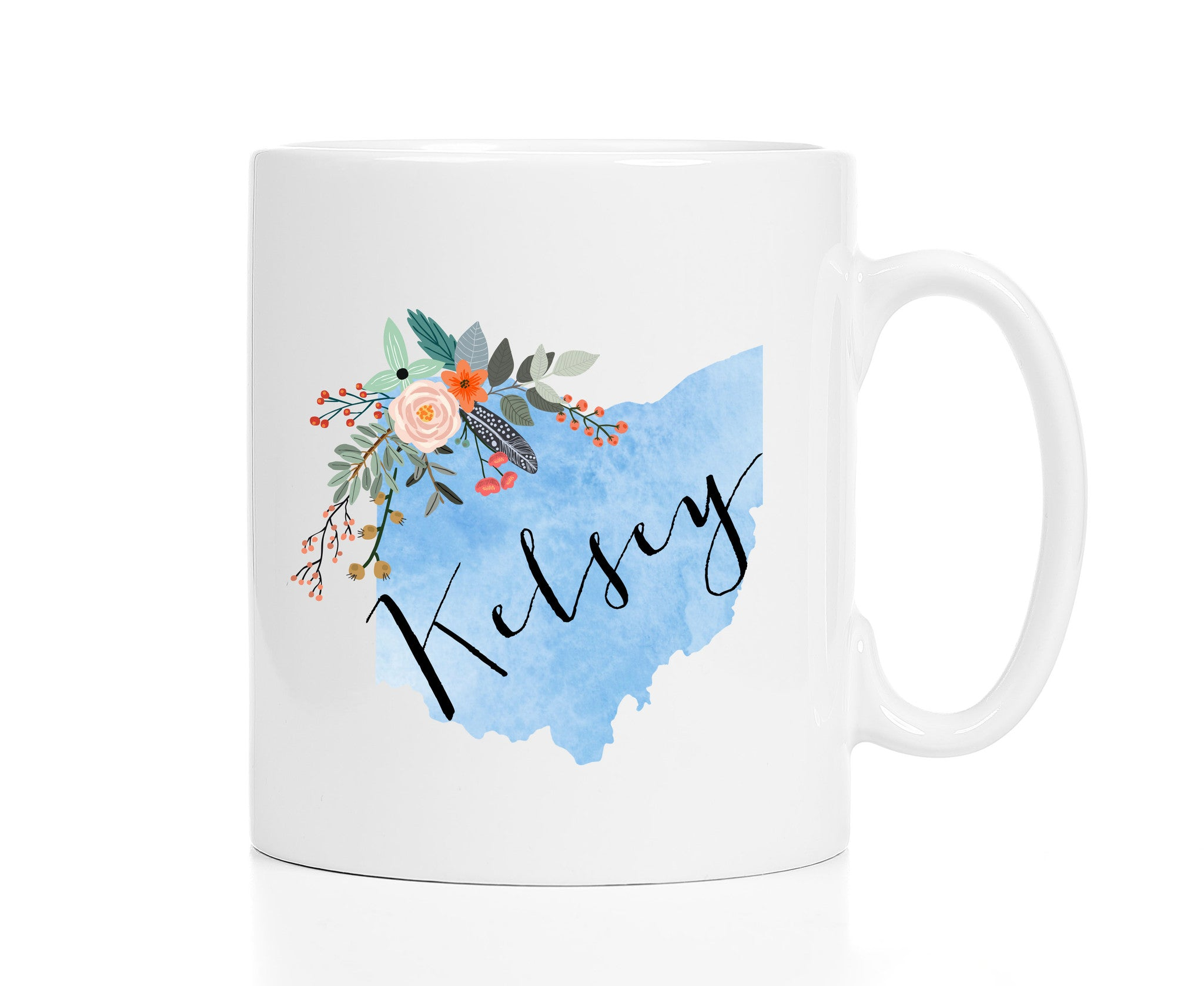 Personalized Ohio Mug