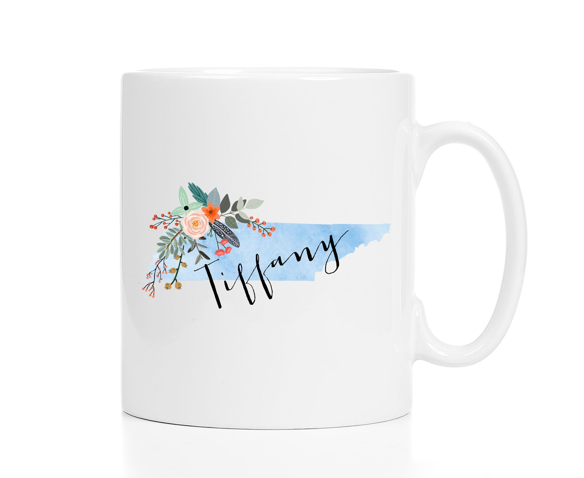Personalized Tennessee Mug
