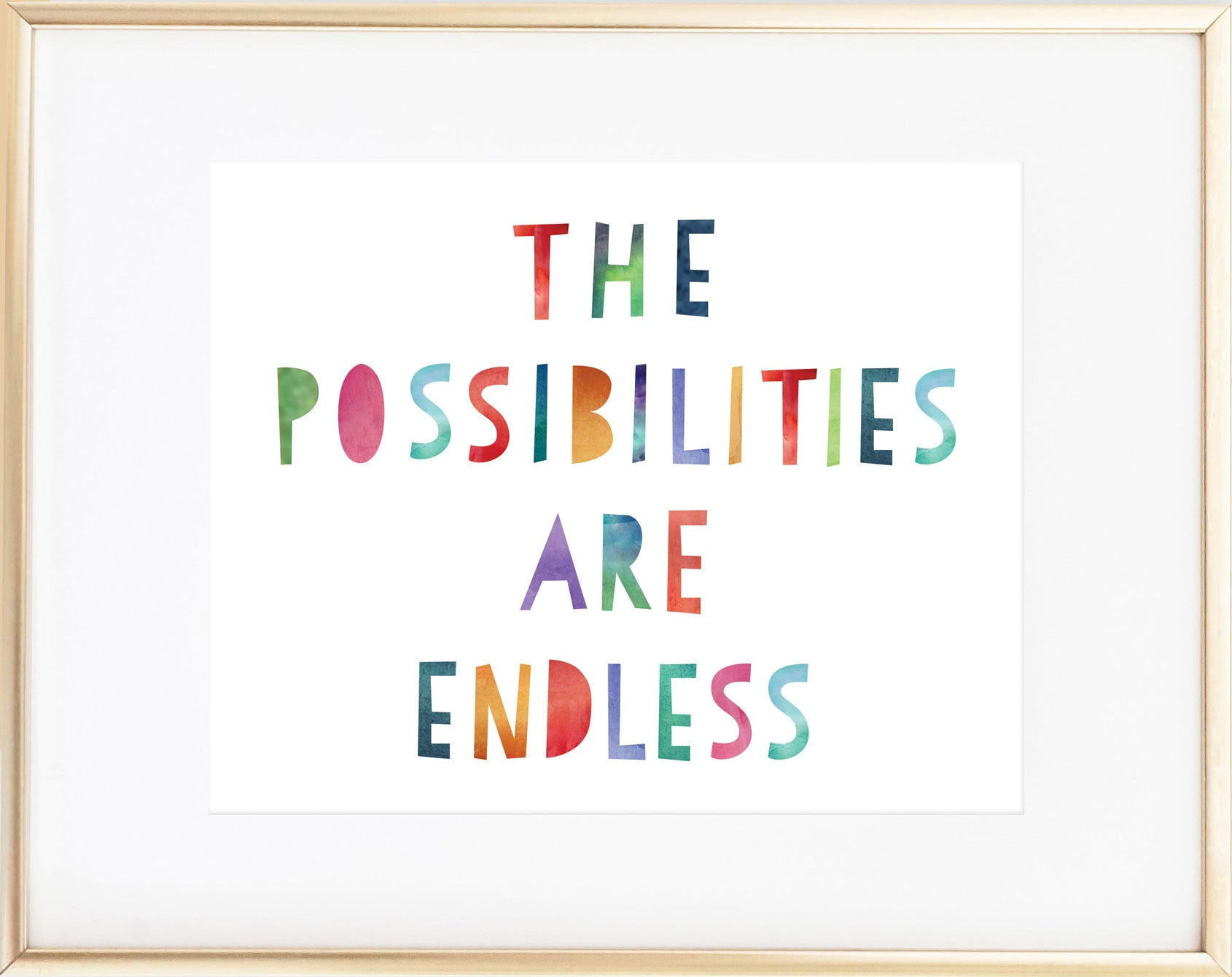 The Possiblities Are Endless Print
