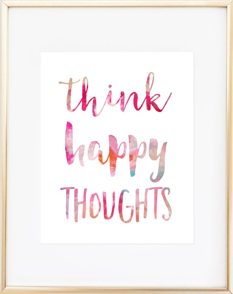 Think Happy Thoughts - Free Download!