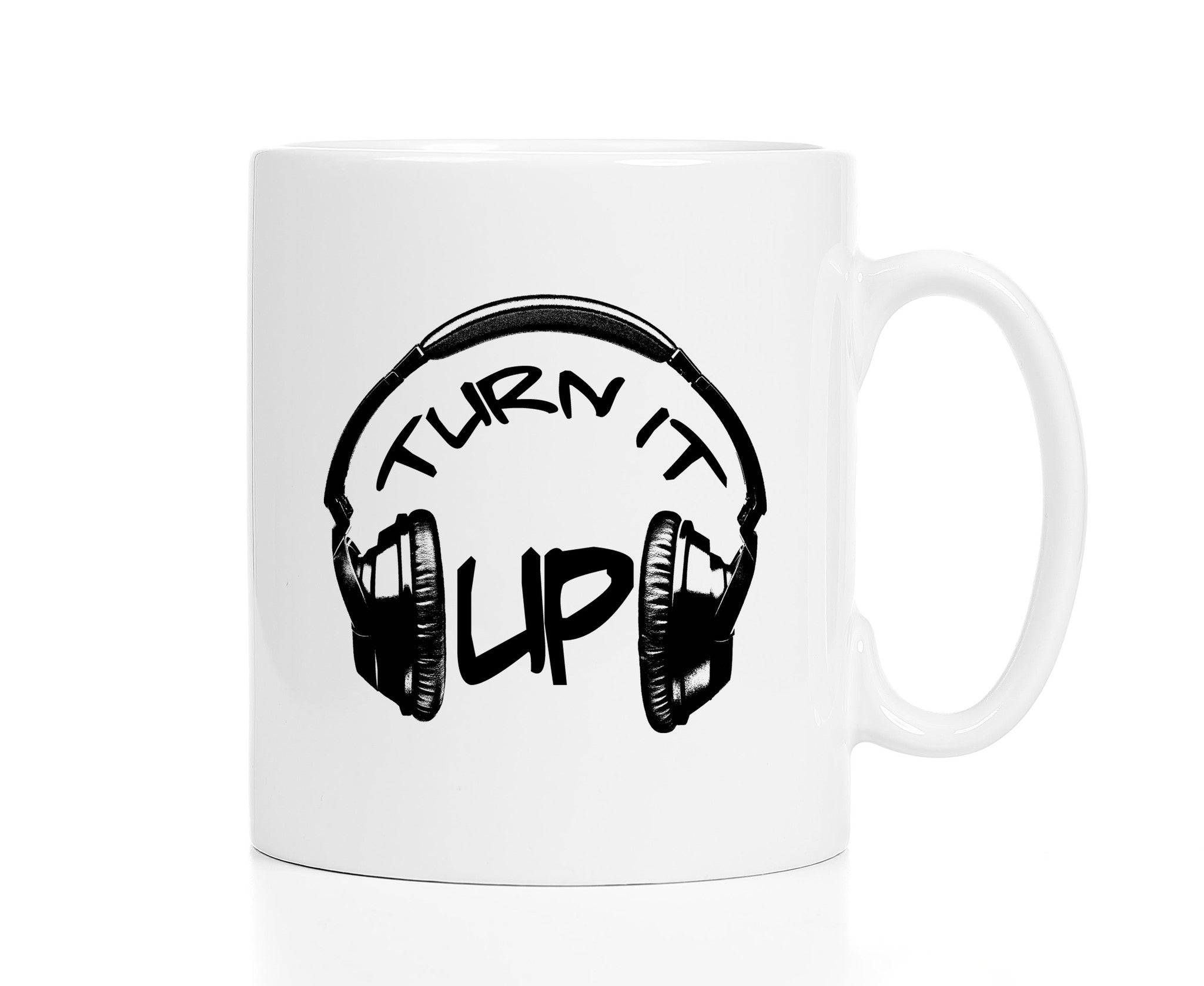 Turn It Up DJ Mug