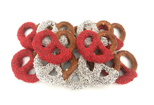 Boston University Chocolate Covered Jumbo Pretzels