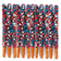 Patriotic Chocolate Covered Pretzel Rods - Topped With Red, White, & Blue Stars