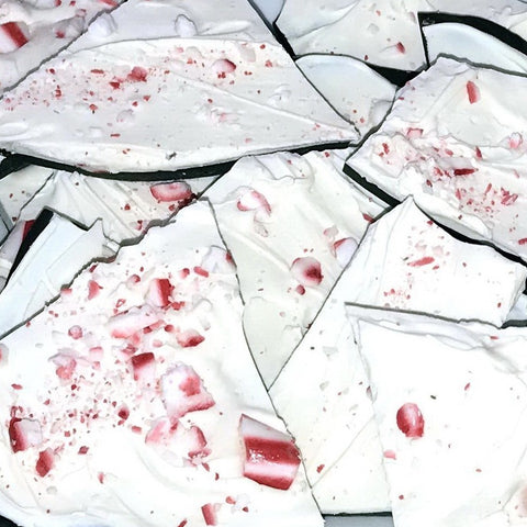 Christmas Peppermint Bark - White & Dark Chocolate