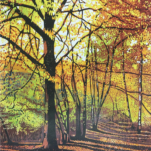 Card - Shropshire Woodland