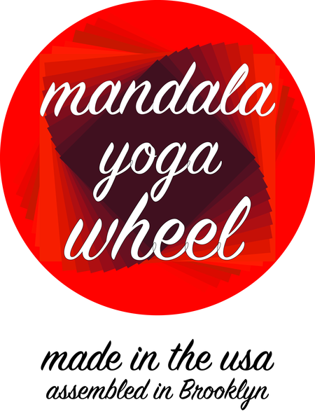 Mandala Wheel, the Original Mandala Yoga Wheel