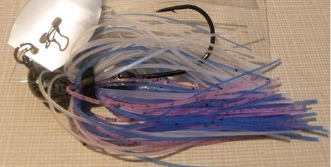 Chatter Baits - Pinky Blue