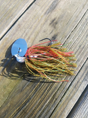 Chatter Bait - Red Bug (1 jig in package)