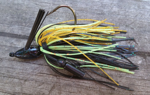 Flipping Jigs - #50 - Blue Gill
