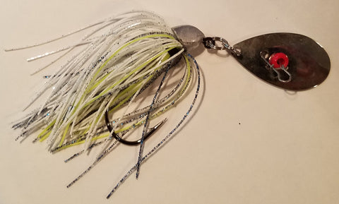 Wobble Jig #05 - White Shad (1 jig in package)
