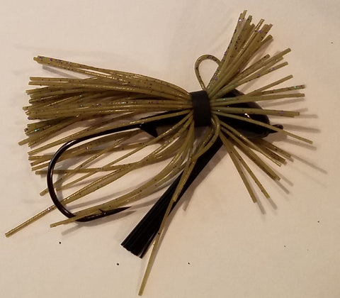 Wood Thumper Jig #12 - Mardi Grass (1 jig in package)