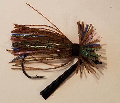 Wood Thumper Jig #40 - Ma Ma Bream (1 jig in package)