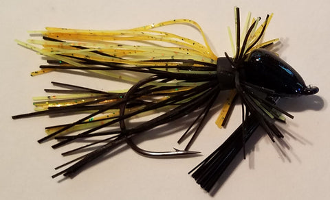 Wood Thumper Jig #50 - Blue Gill (1 jig in package)