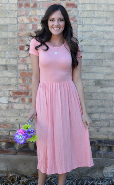 Lovely Pocket Dress | Great for Spring and Summer Bridesmaids!